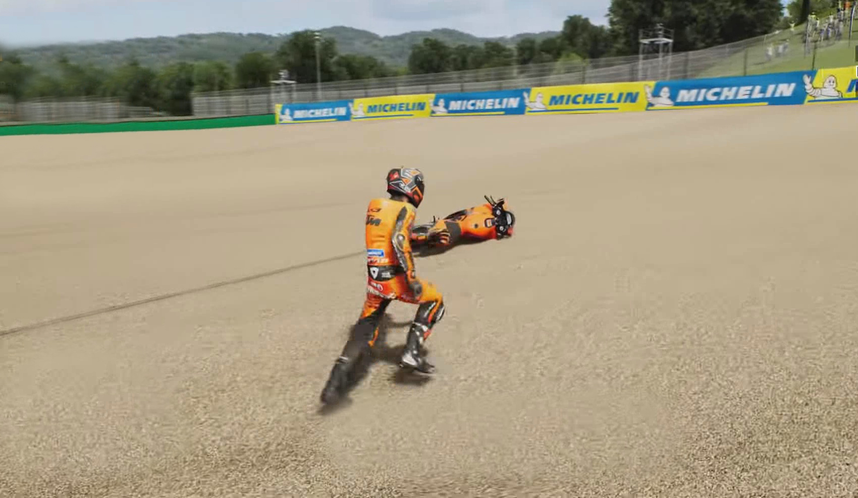 MotoGP 21 Trailer Shows Off Bike Retrieval