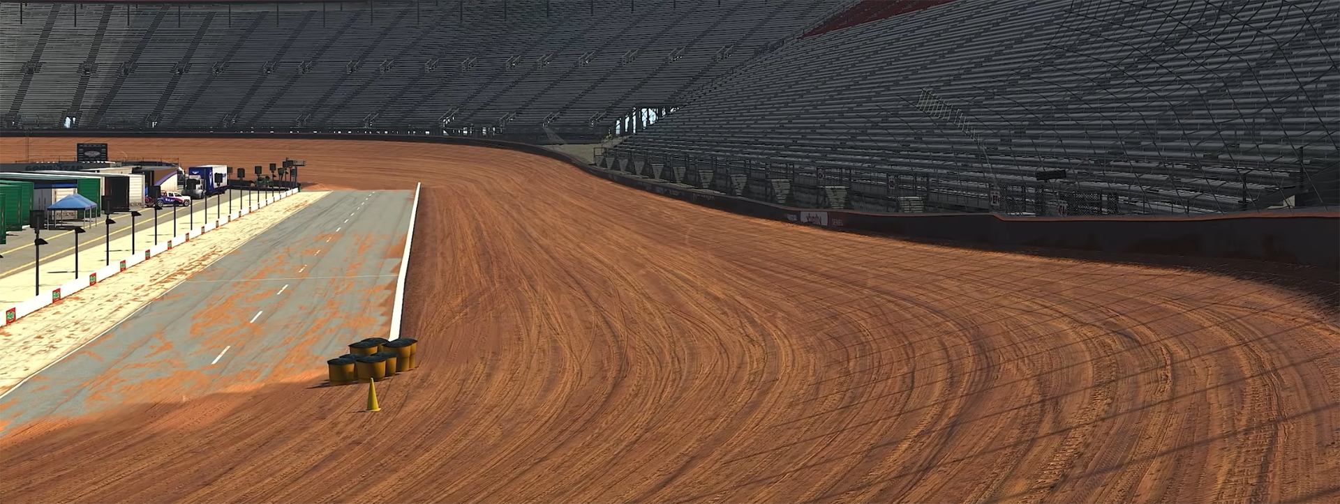 iRacing Preview Bristol Dirt, Releases March 9, 2021