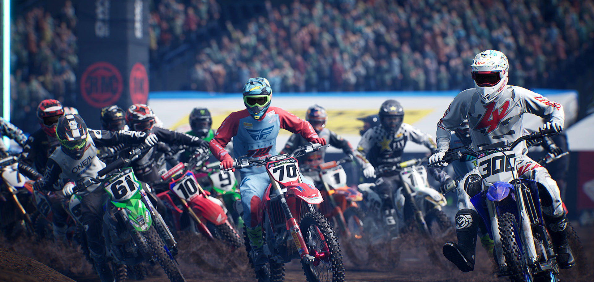 Supercross 4 DLC Adds 2-Stroke (250) bikes, Indianapolis 2020 track