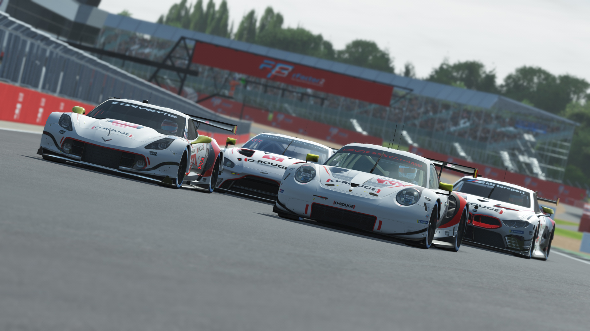 rFactor 2 Indianapolis, Portland + Silverstone Updated